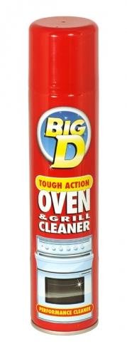 BIG D OVEN CLEANER 300ML X6