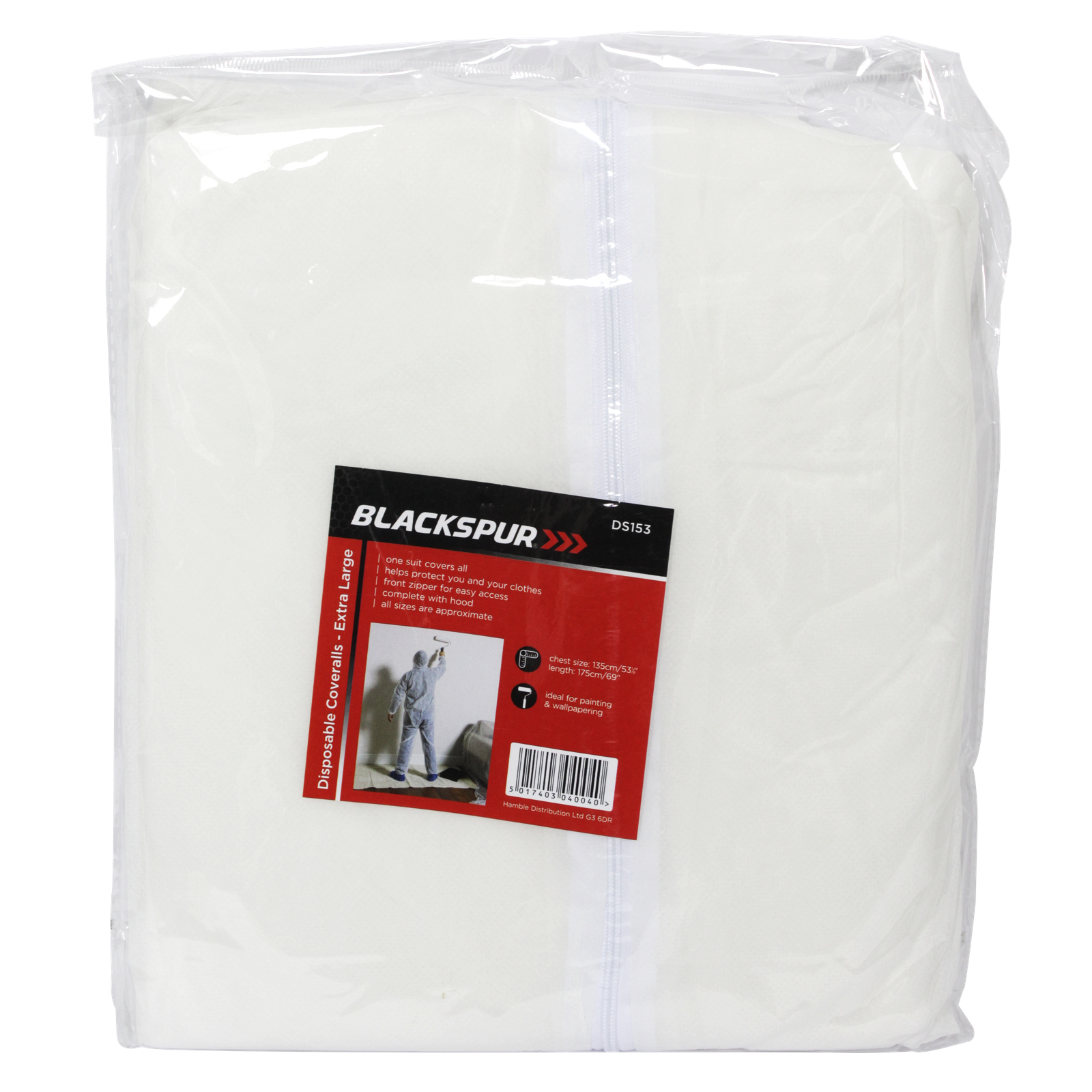 BLACKSPUR DISPOSABLE COVERALL