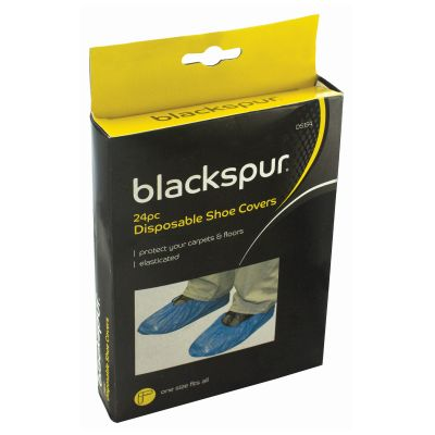 BLACKSPUR 24 DISPOSABLE SHOE COVERS