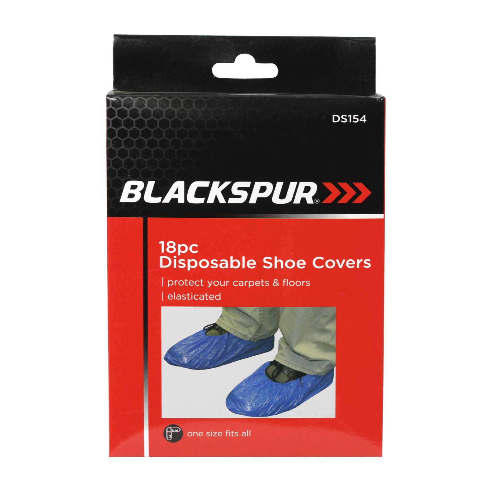 BLACKSPUR 24 DISPOSABLE SHOE COVERS