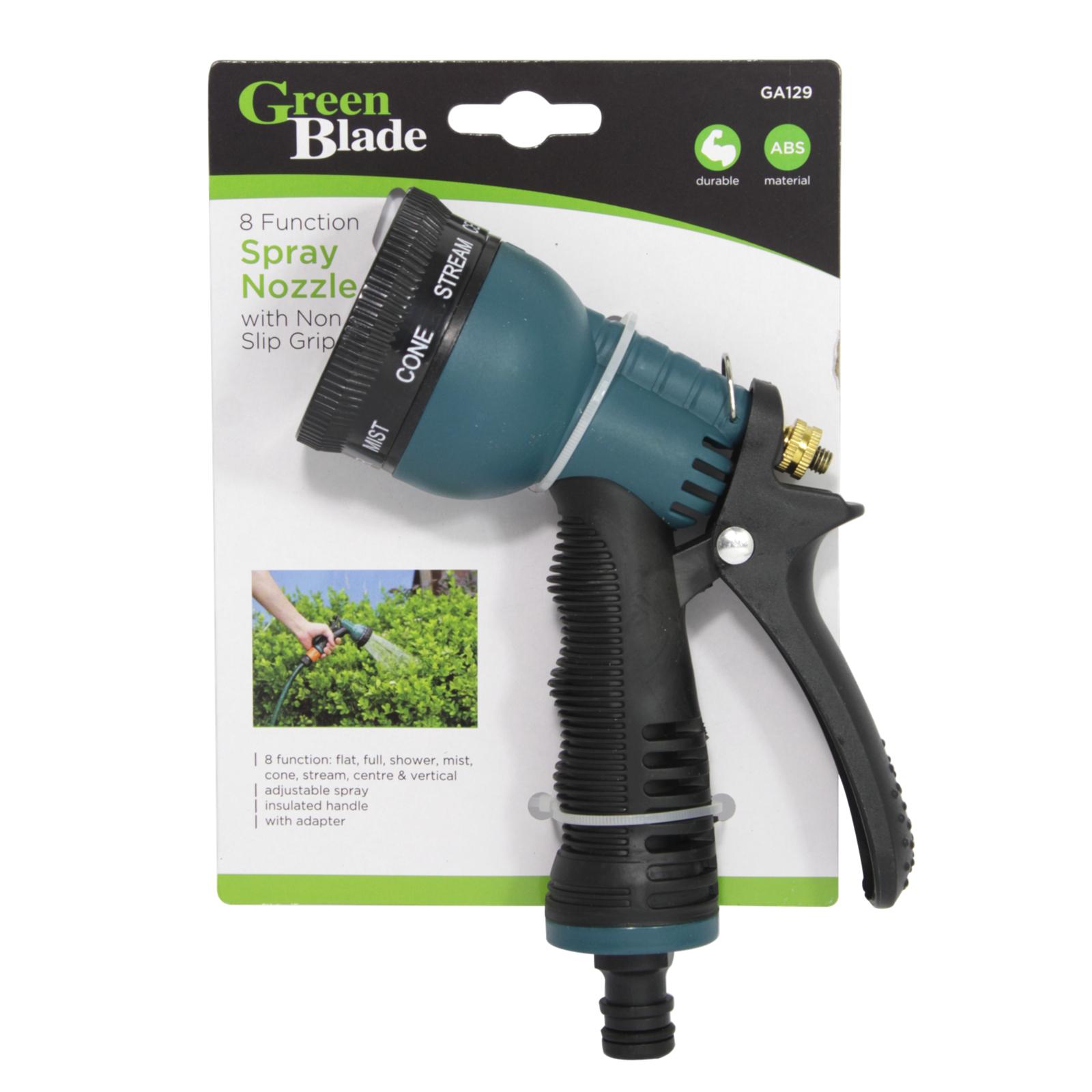 GREEN BLADE 8 FUNCTION SPRAY NOZZLE