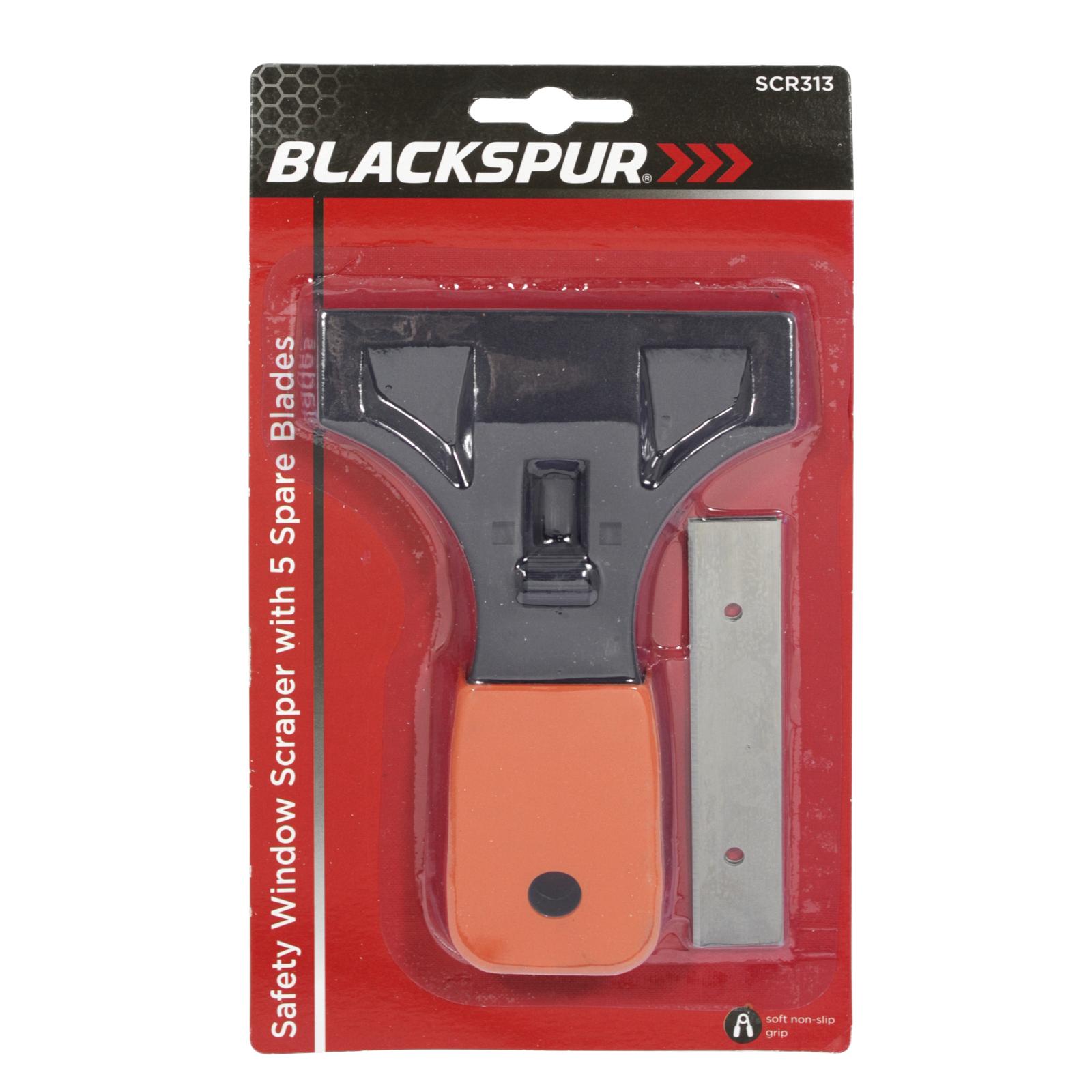 BLACKSPUR SAFE WINDOW SCRAPER+5 BLADES