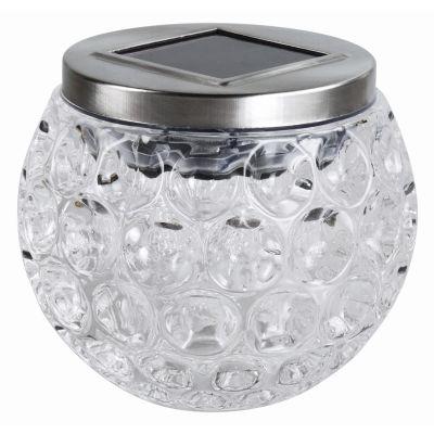 KINGAVON SOLAR GLASS TABLE GLOBE X6