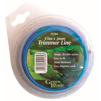 GREEN BLADE 3MMX15M STRIMMER LINE