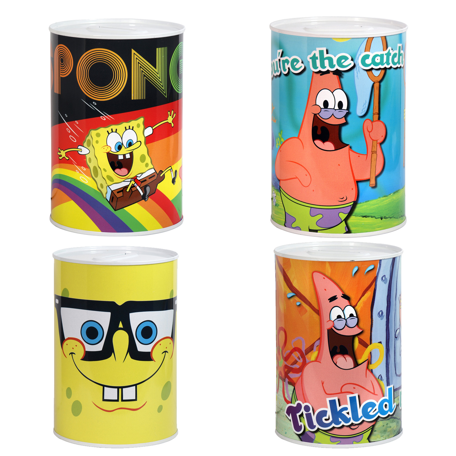 MONEY TIN 100X150MM SPONGEBOB