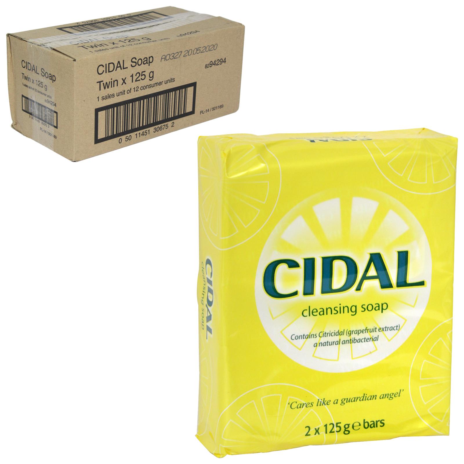 CIDAL SOAP 2X125GM X12