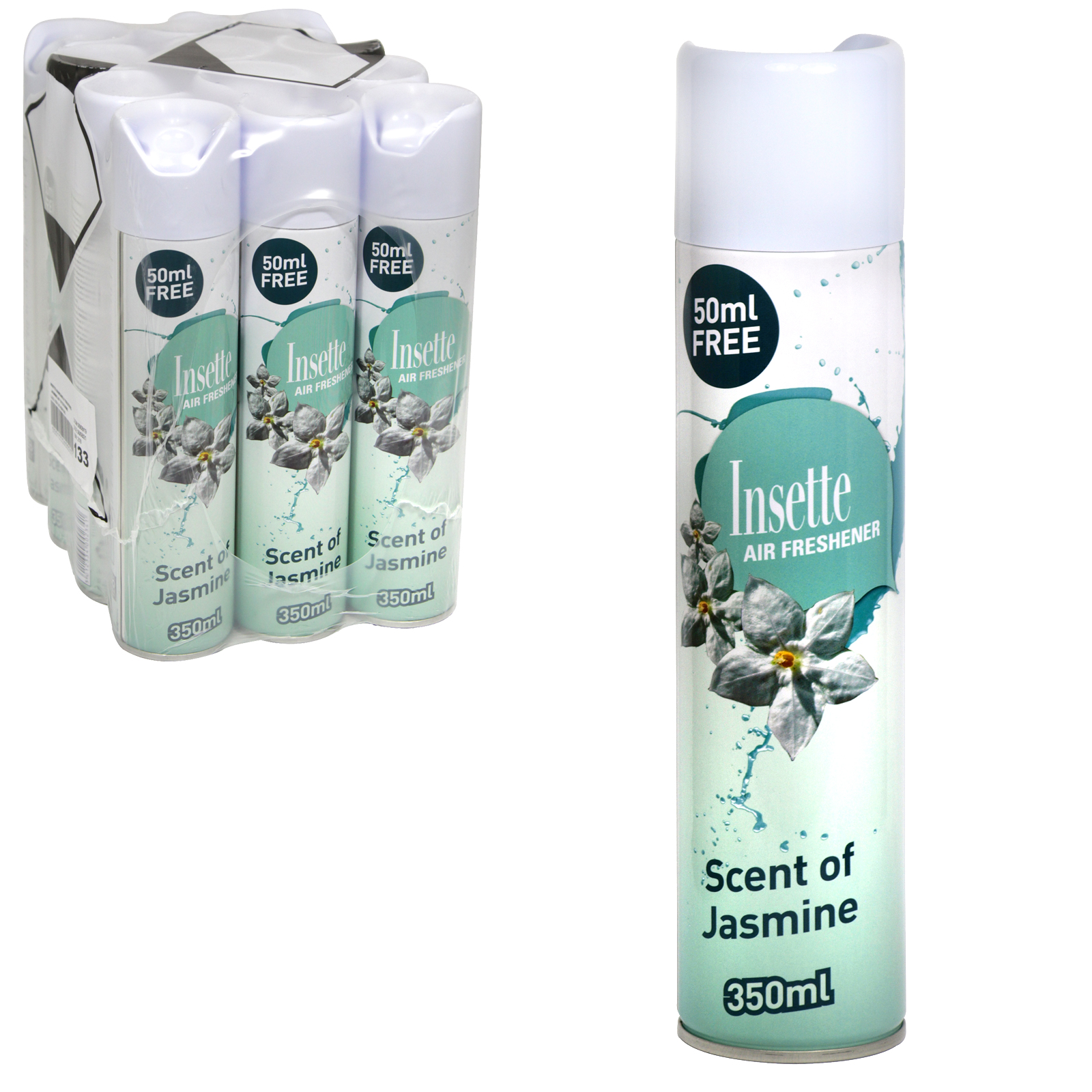 INSETTE AIRFRESHENER 350ML SCENT OF JASMINE X12