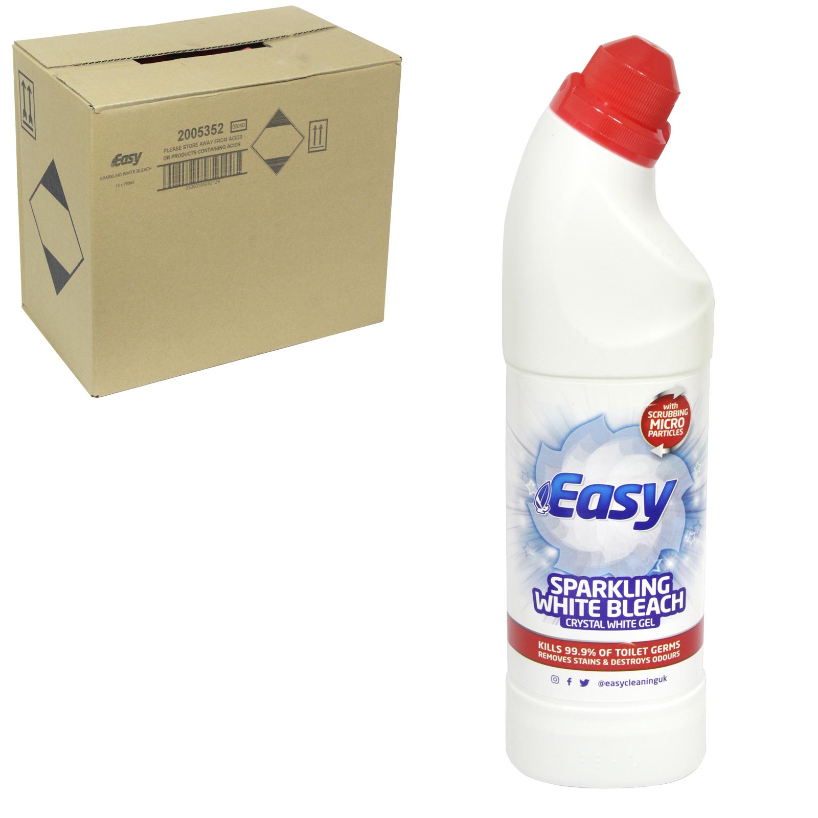 EASY WHITE BLEACH+CRYSTAL GEL WHITE X12
