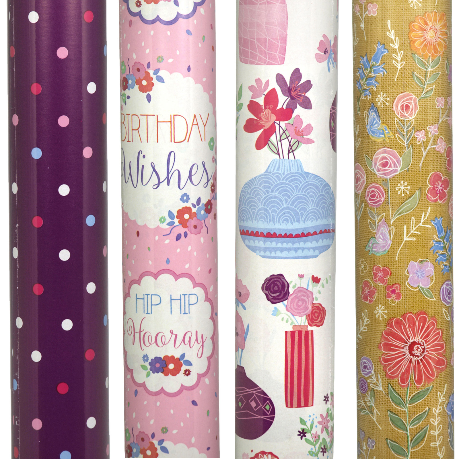 GIFT WRAP ROLLS 3M CONTEMP FEMALE X36