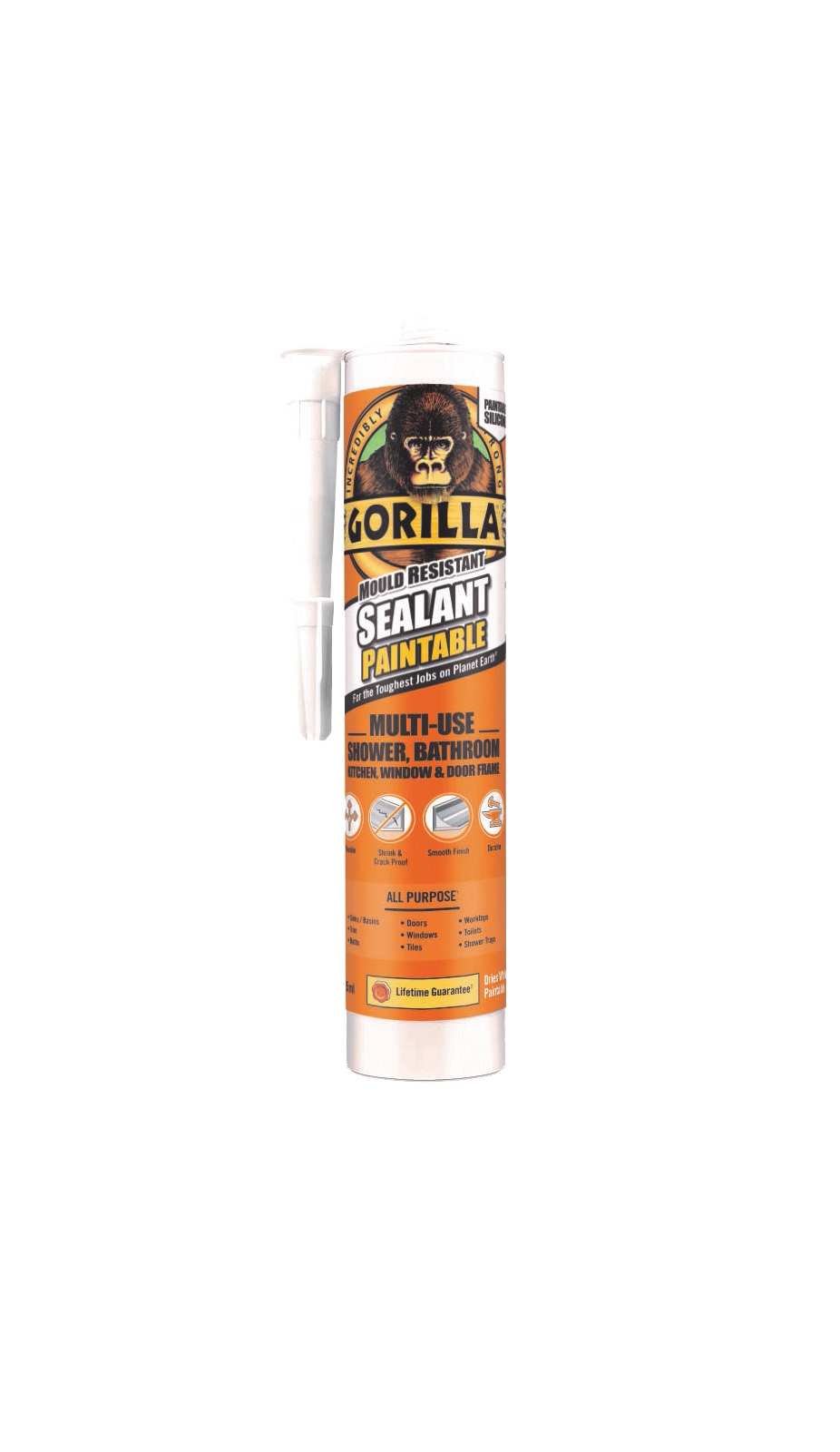 GORILLA SEALANT 265ML CART PAINTABLE