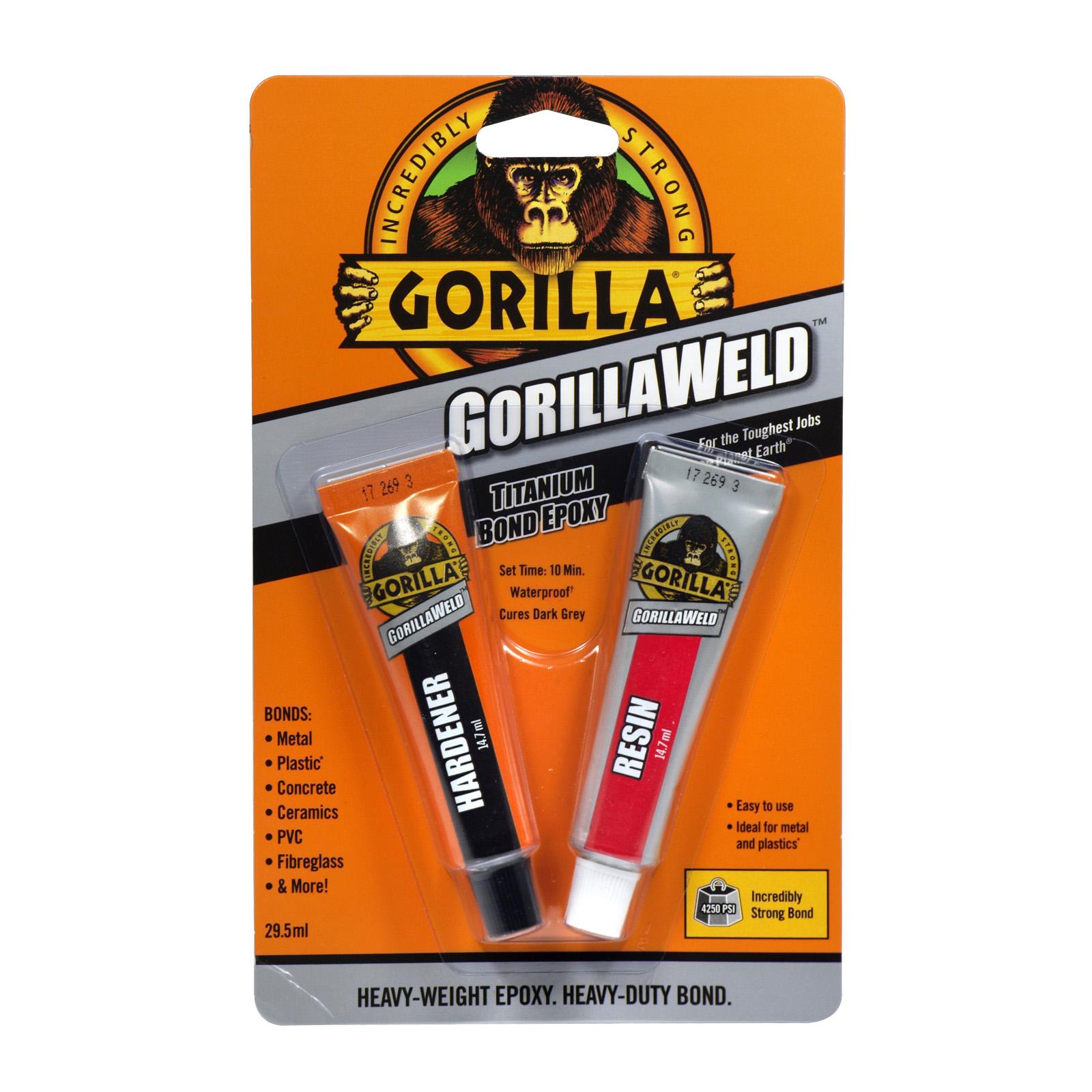 GORILLA WELD 2X14.7MLTITANIUM EPOXY BOND
