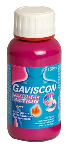 GAVISCON DOUBLE ACTION 150ML X6 (NON RETURNABLE)