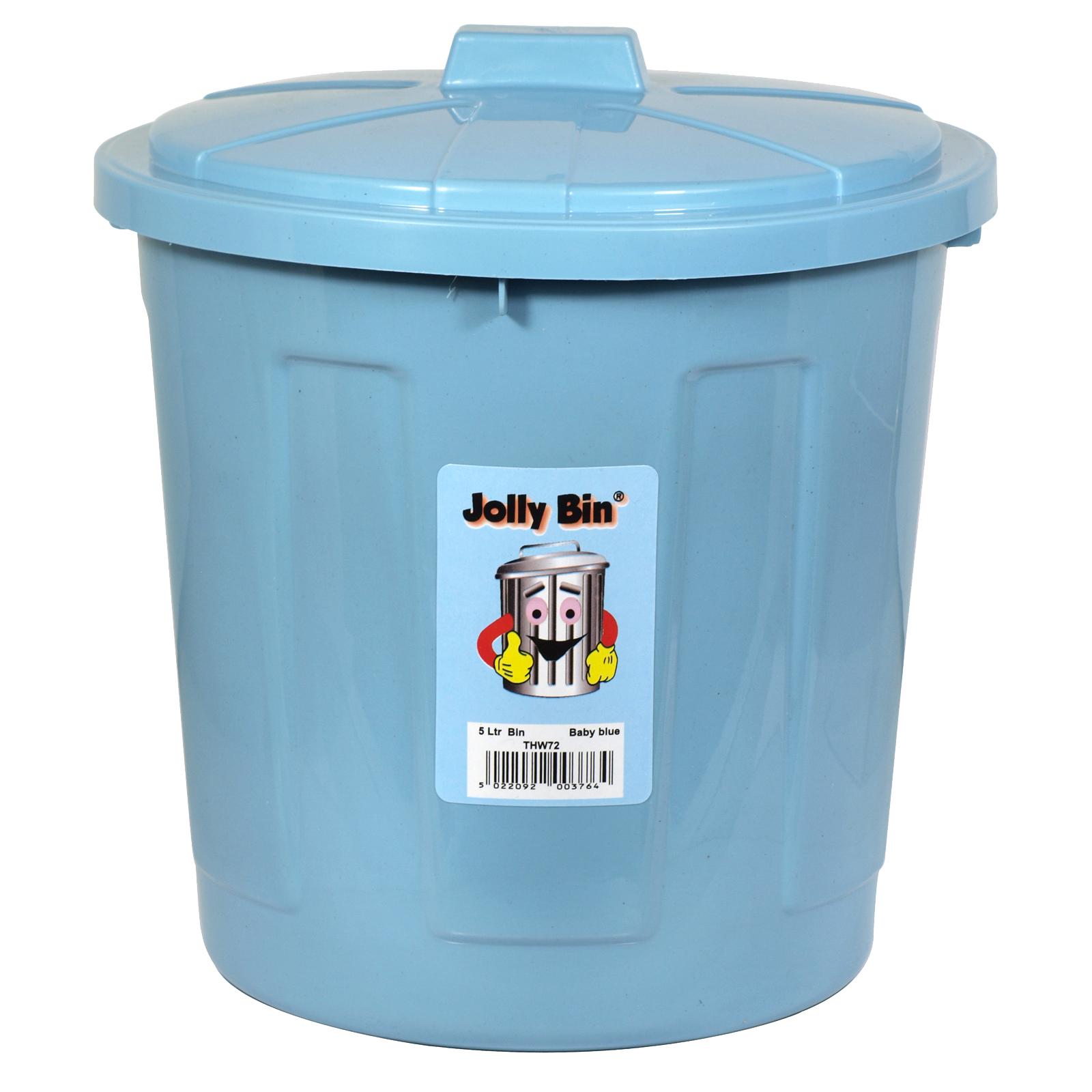 JOLLY BIN 5L BABY BLUE
