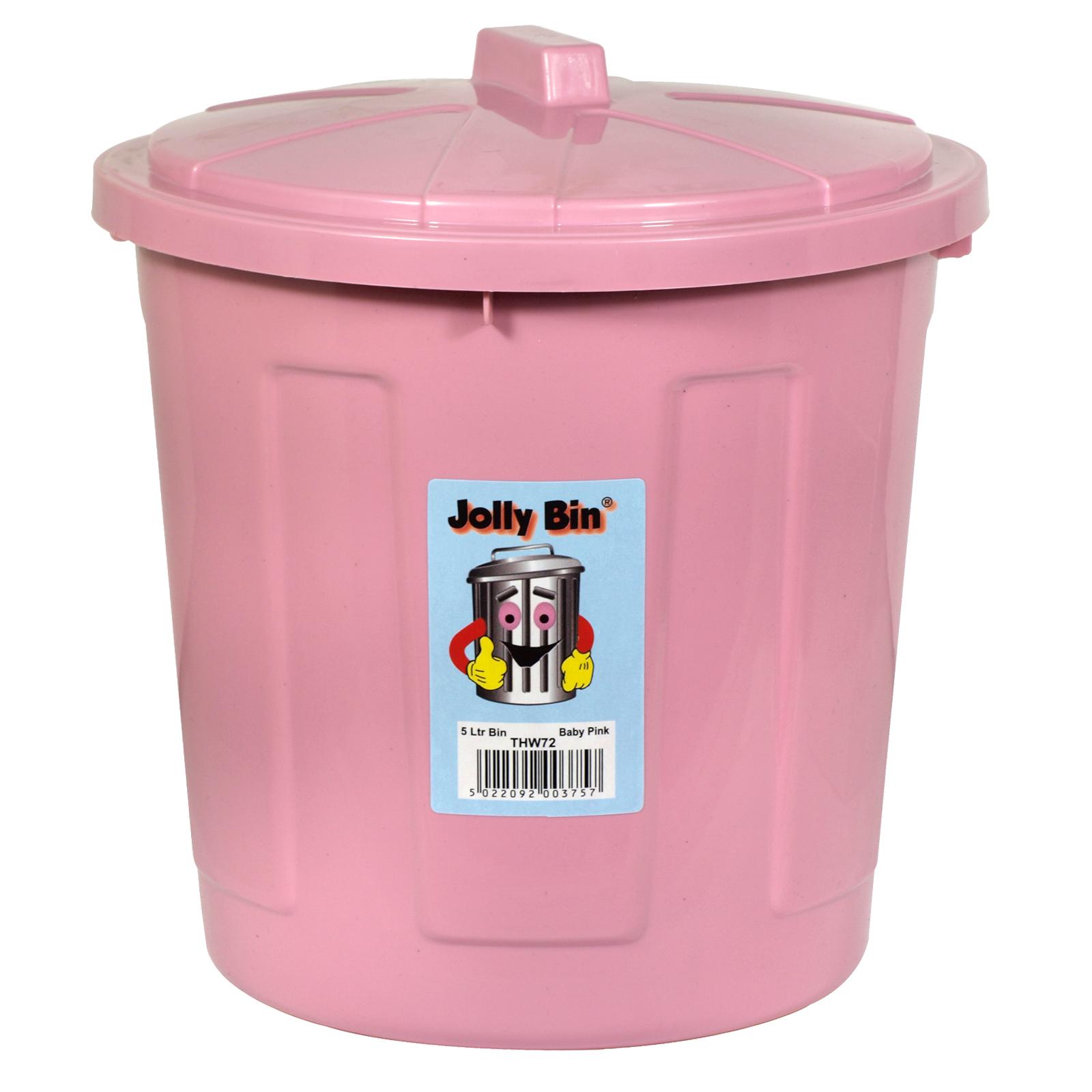JOLLY BIN 5L BABY PINK