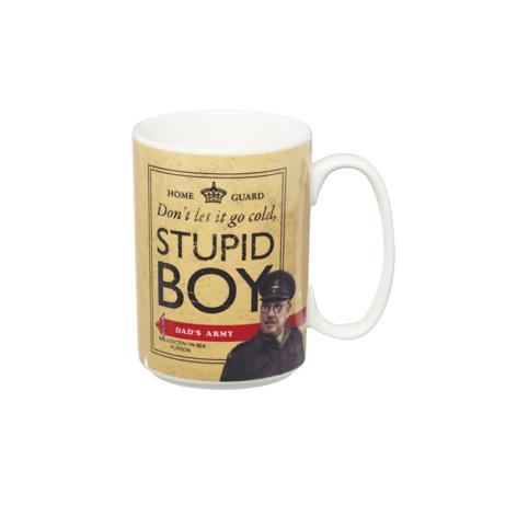 Dads Army Stupid Boy Mug