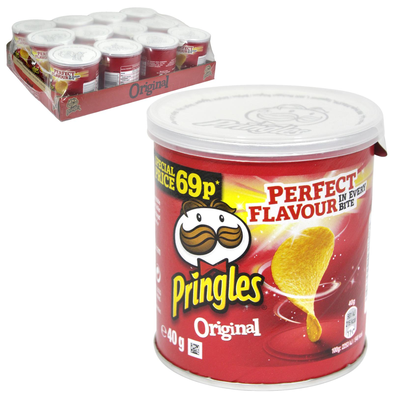 PRINGLES 40GM  ORIGINAL PM 69P X12