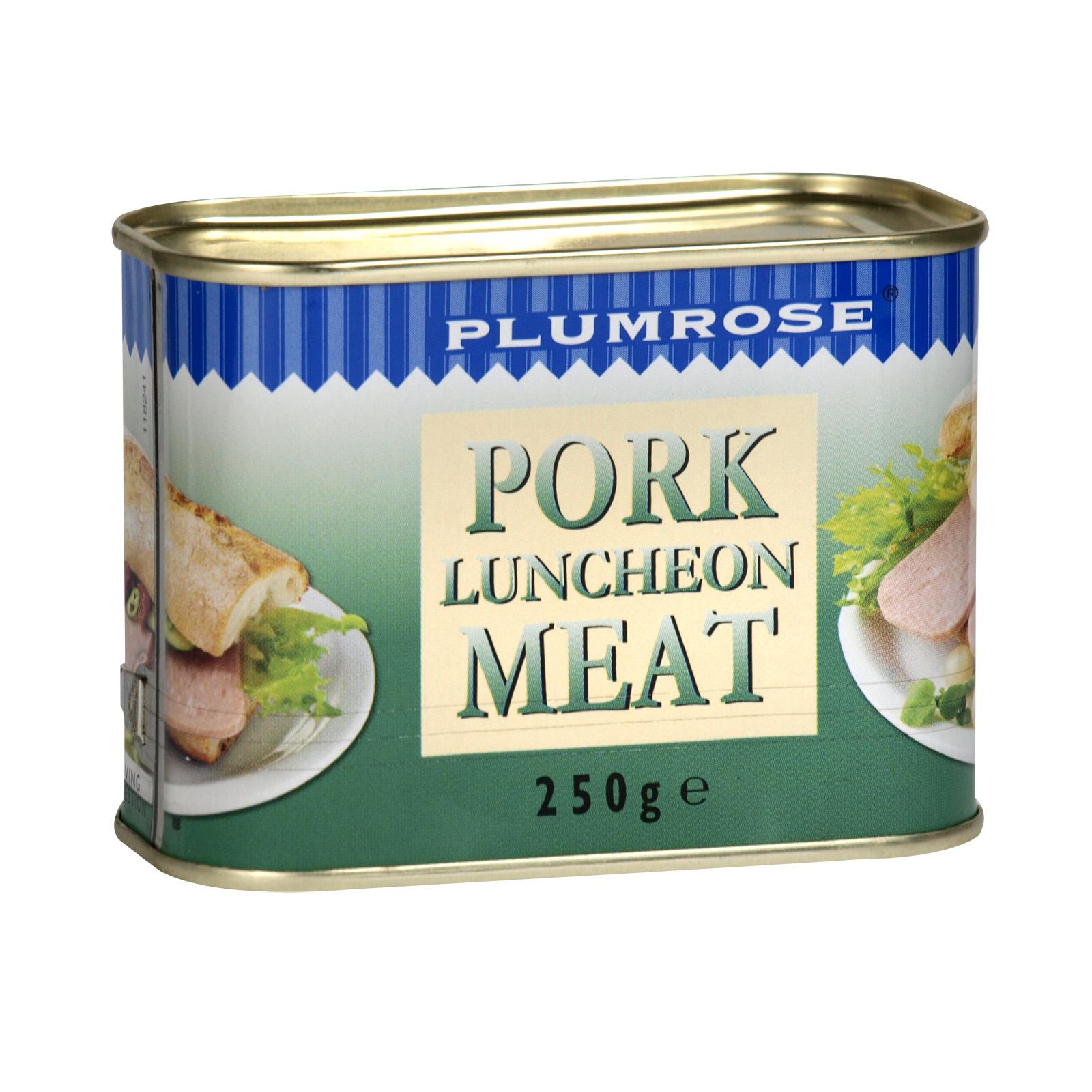 PLUMROSE PORK LUNCHEON MEAT 250GM X12