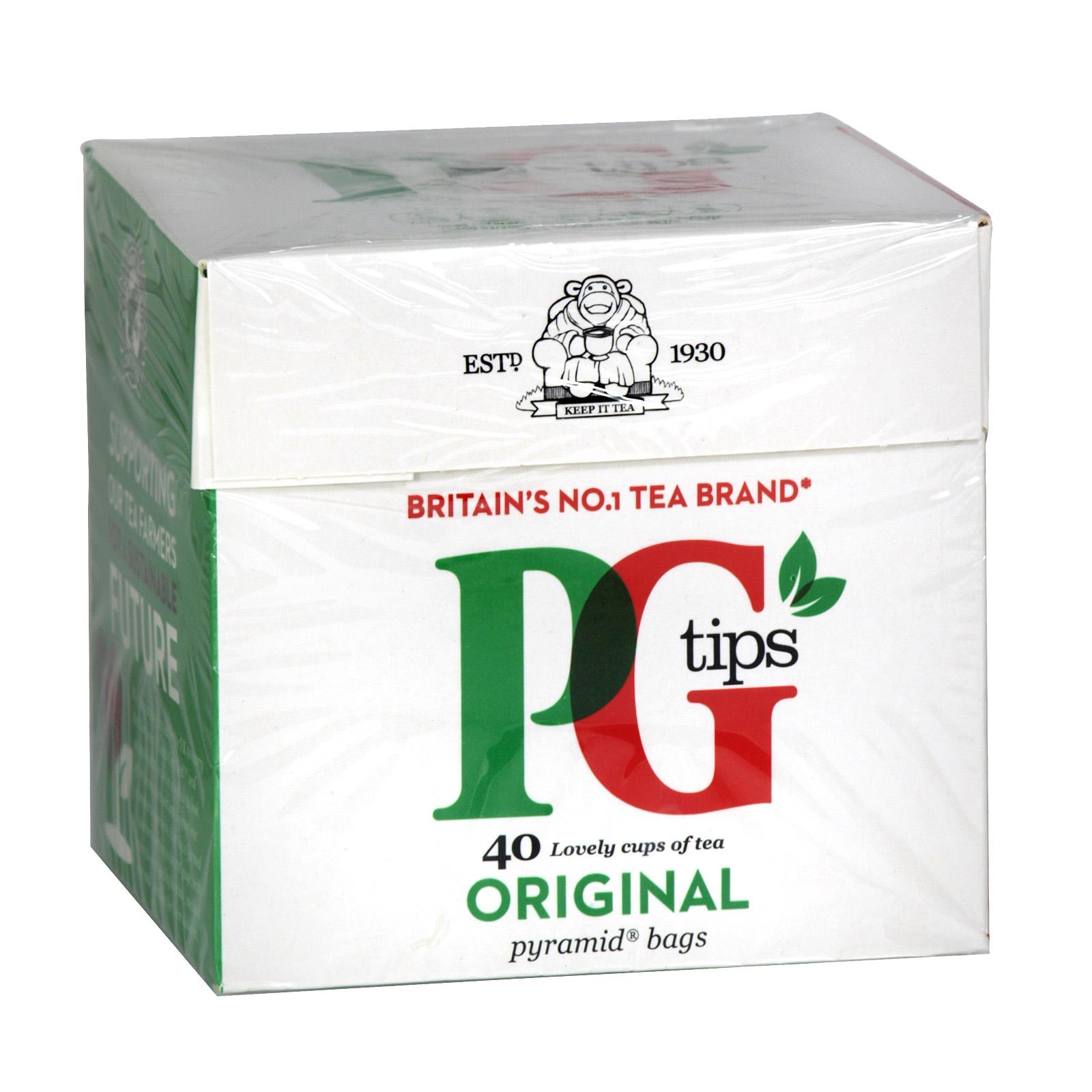 PG TIPS TEA BAGS 40S X24