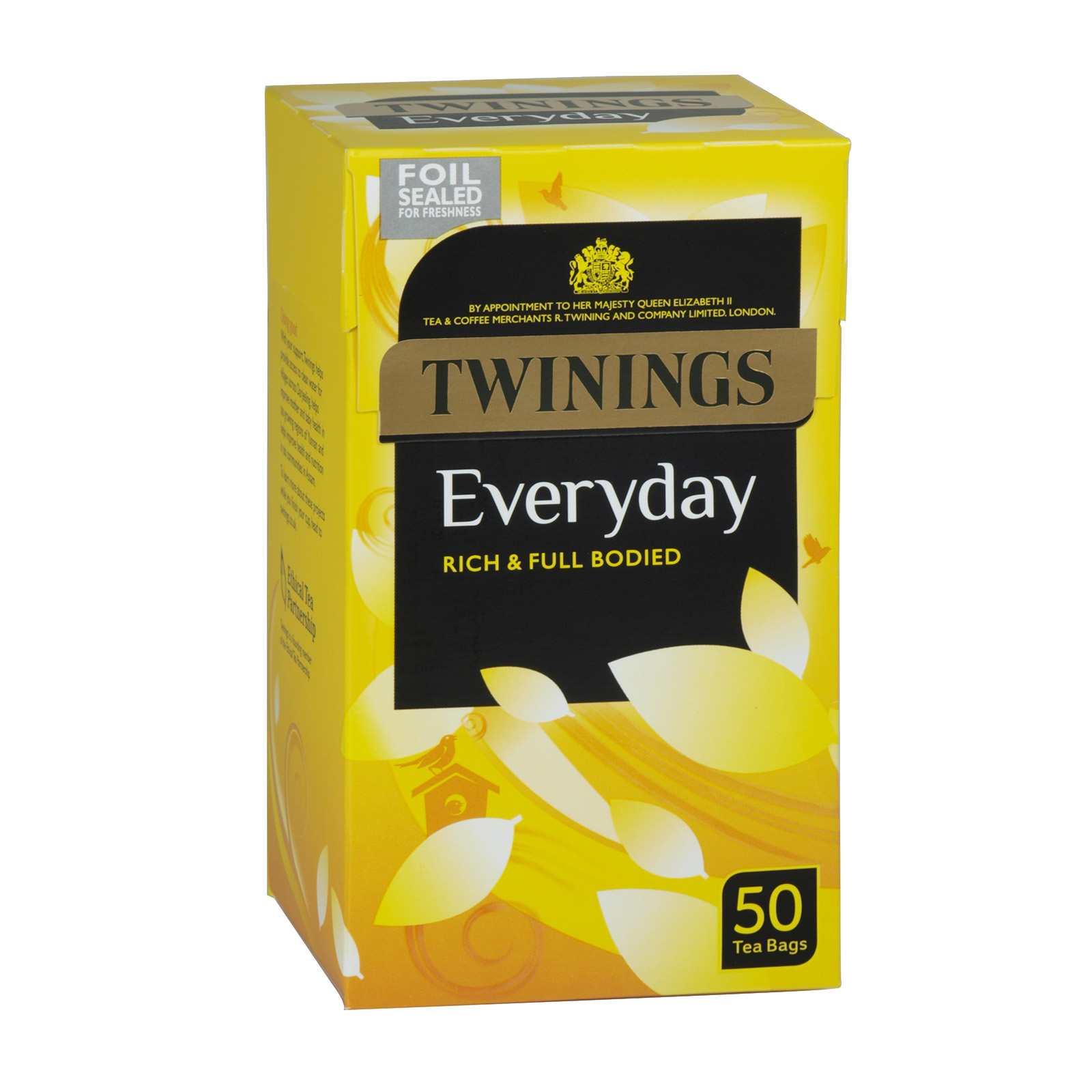 TWININGS EVERY DAY TEA BAGS 50S X4