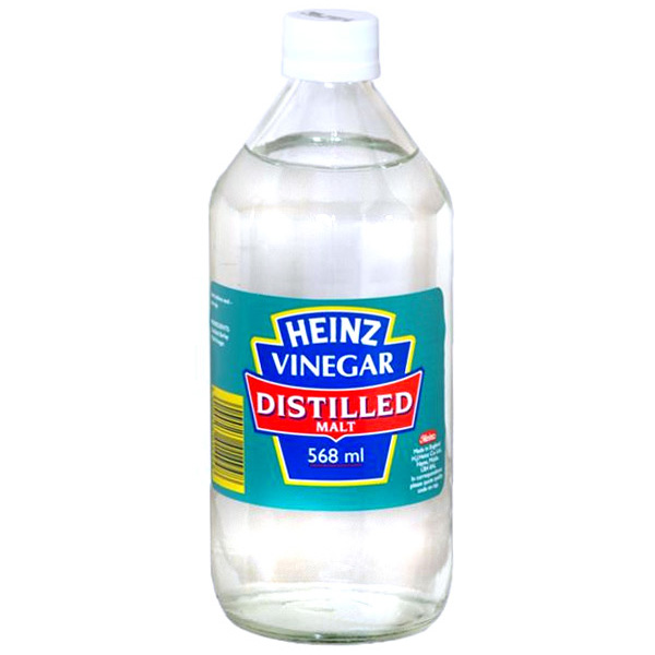 HEINZ DISTILLED VINEGAR 568ML X12
