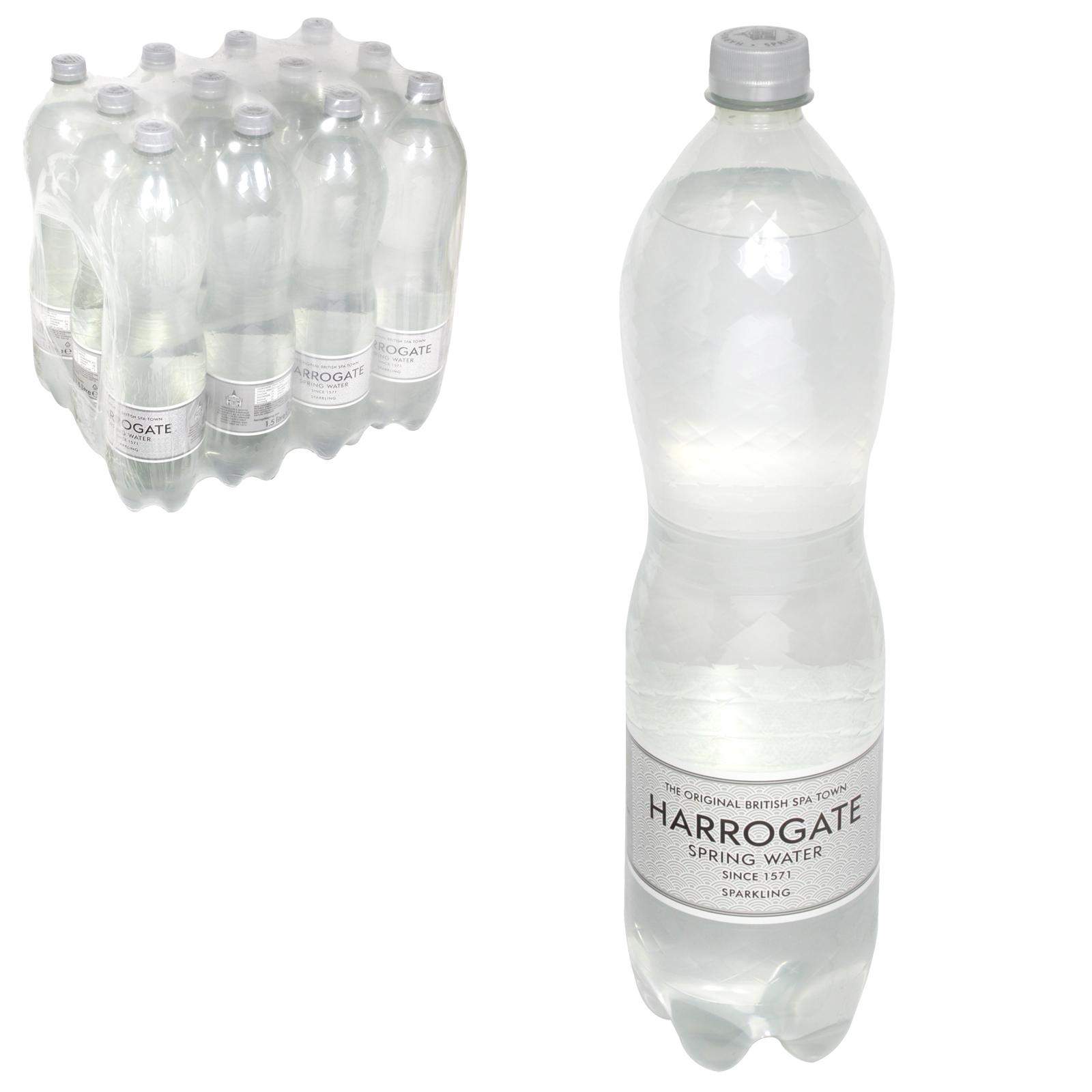 HARROGATE SPARKLING WATER 1.5L X12