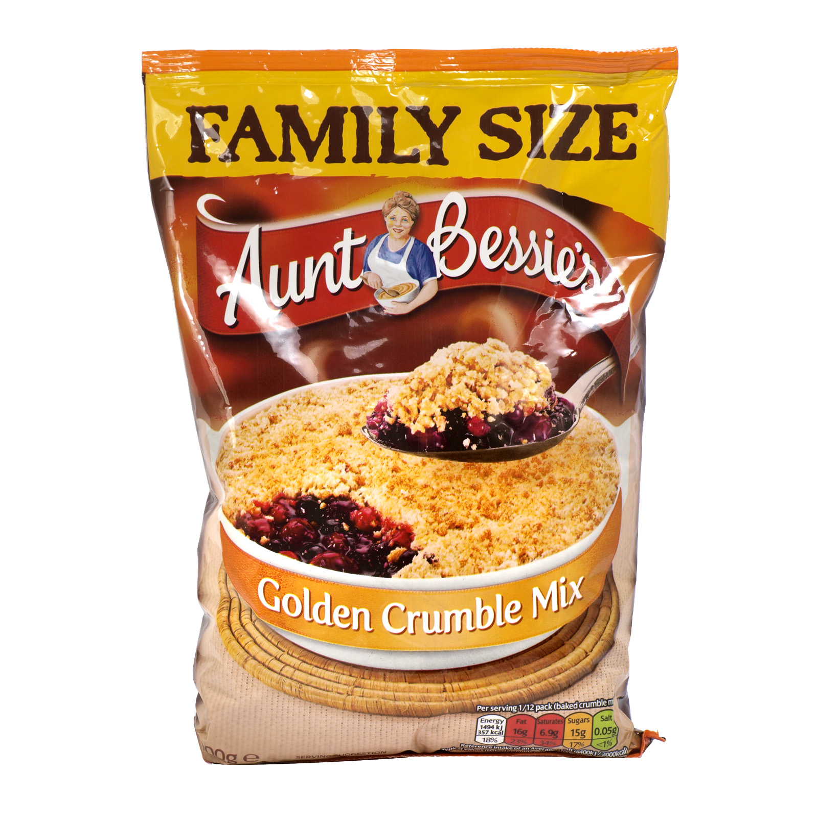 AUNT BESSIES CRUMBLE MIX 900GM