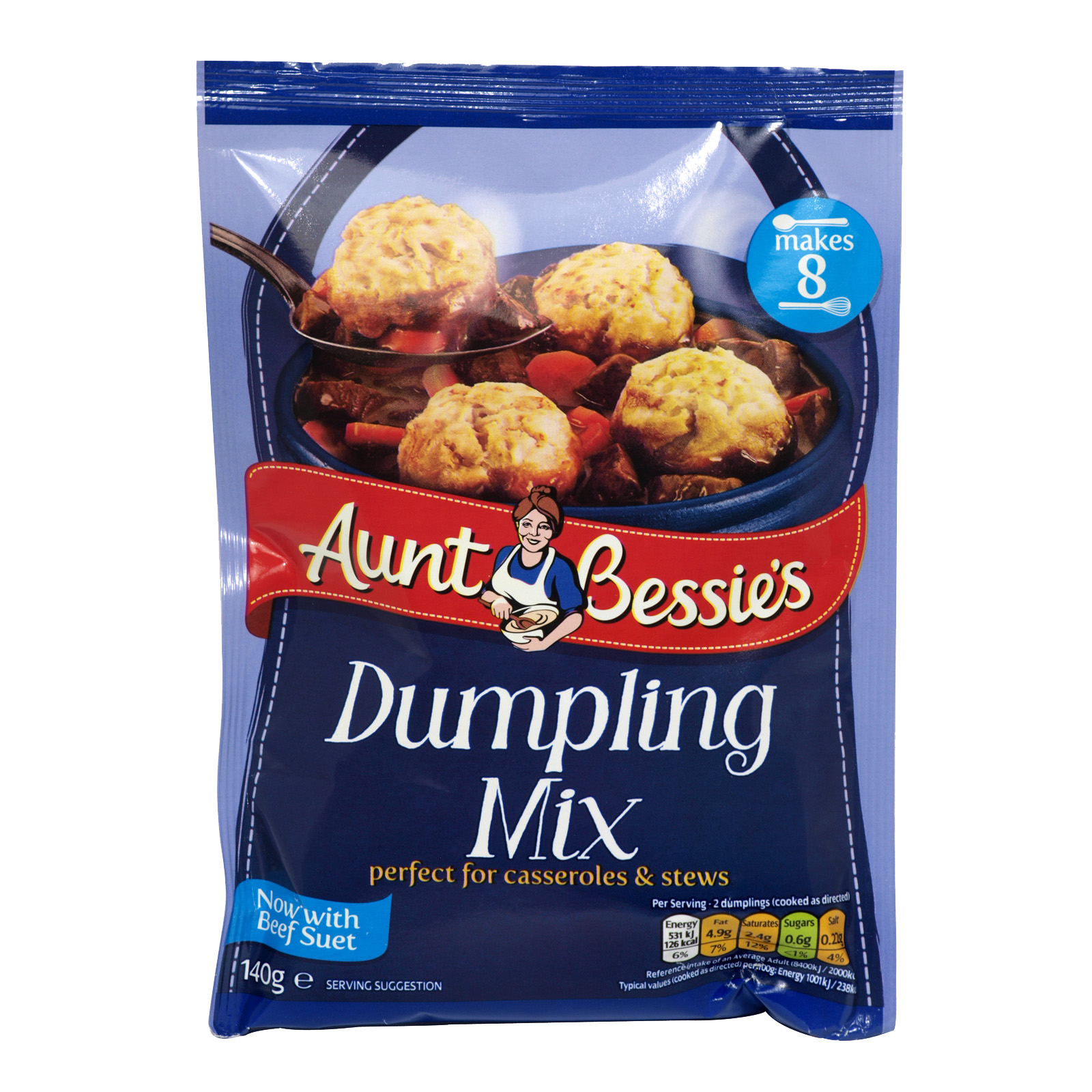 AUNT BESSIES DUMPLING MIX 140G X9