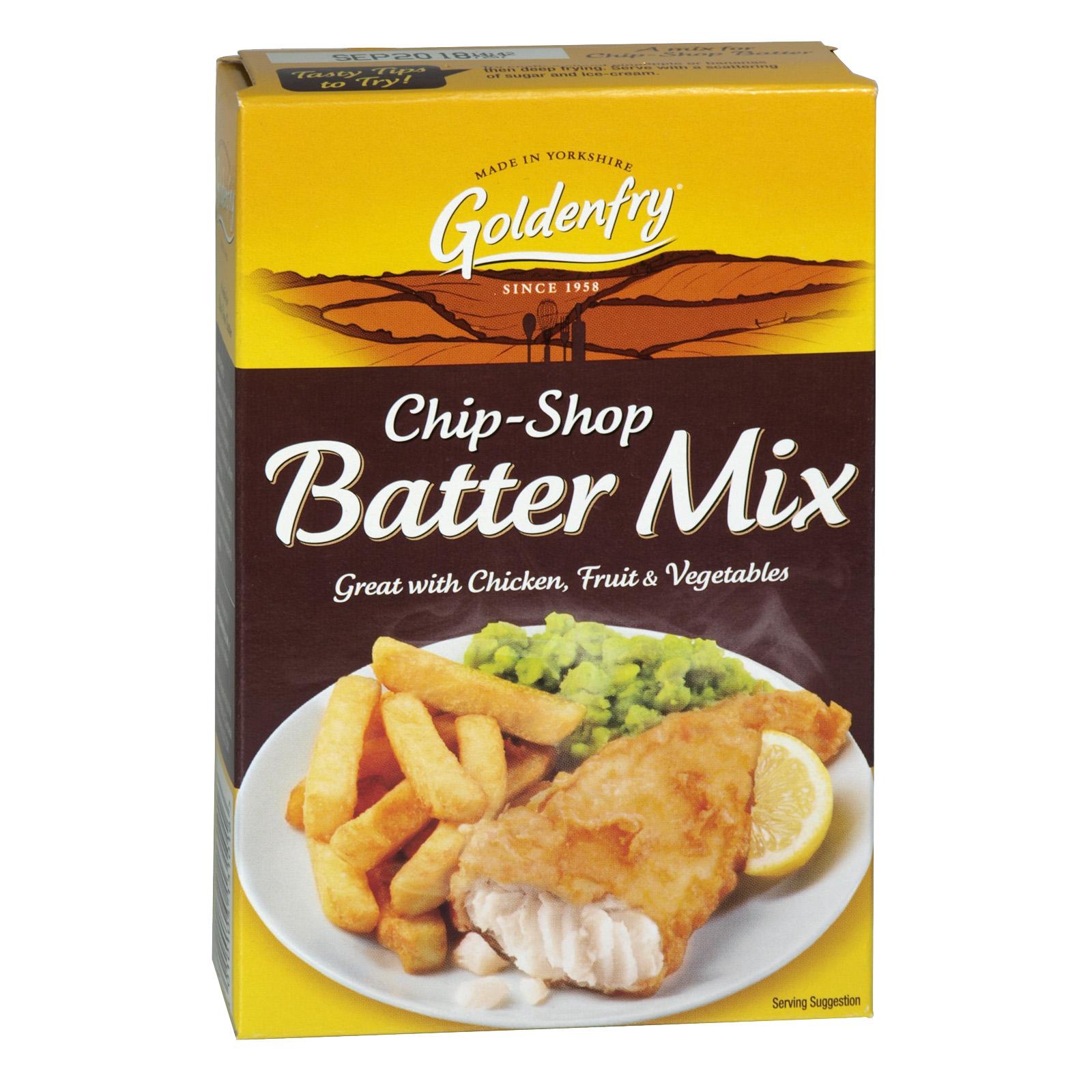 GOLDEN FRY CHIP SHOP BATTER MIX 170G