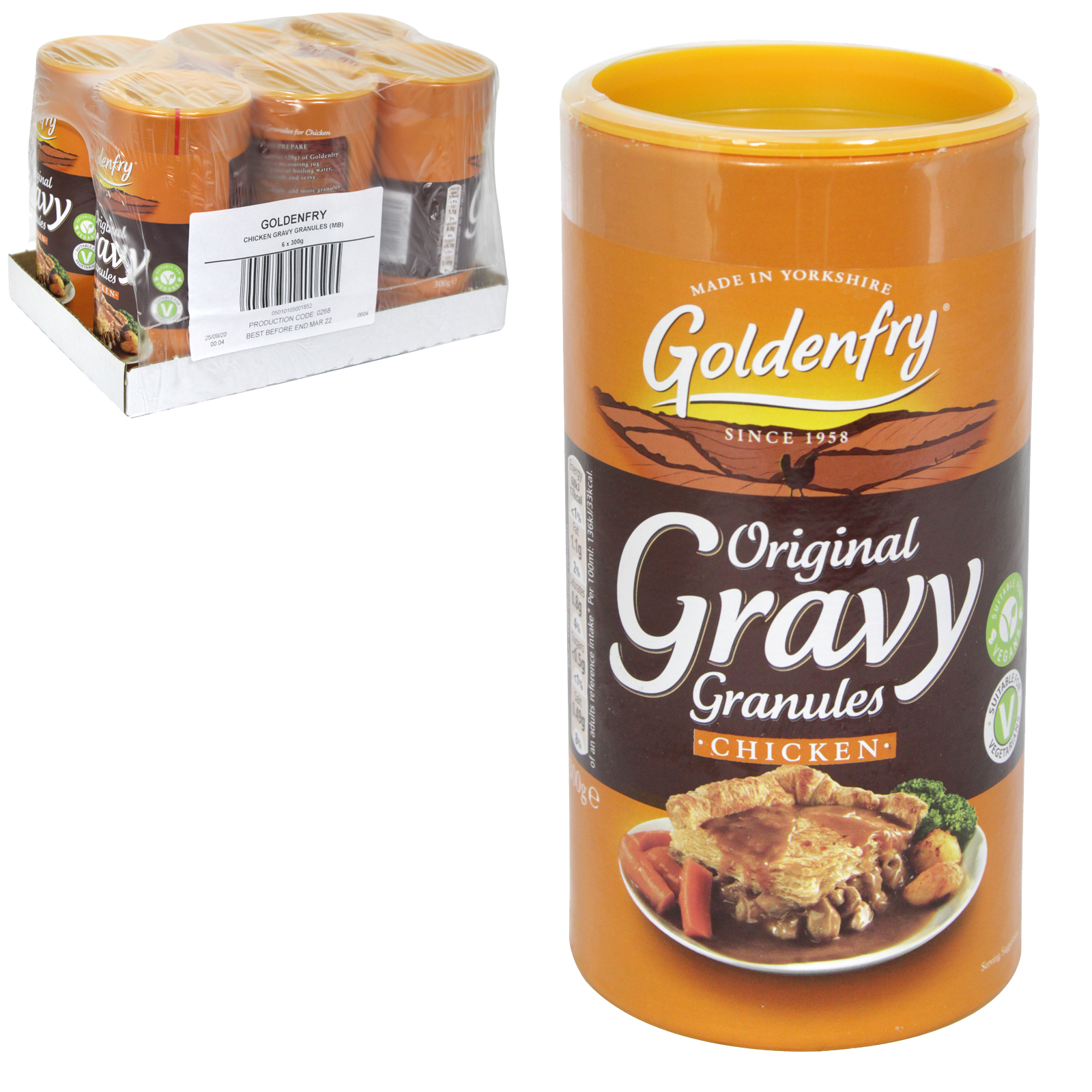 GOLDEN FRY CHICKEN GRAVY GRANULES PM ?1.49 X6