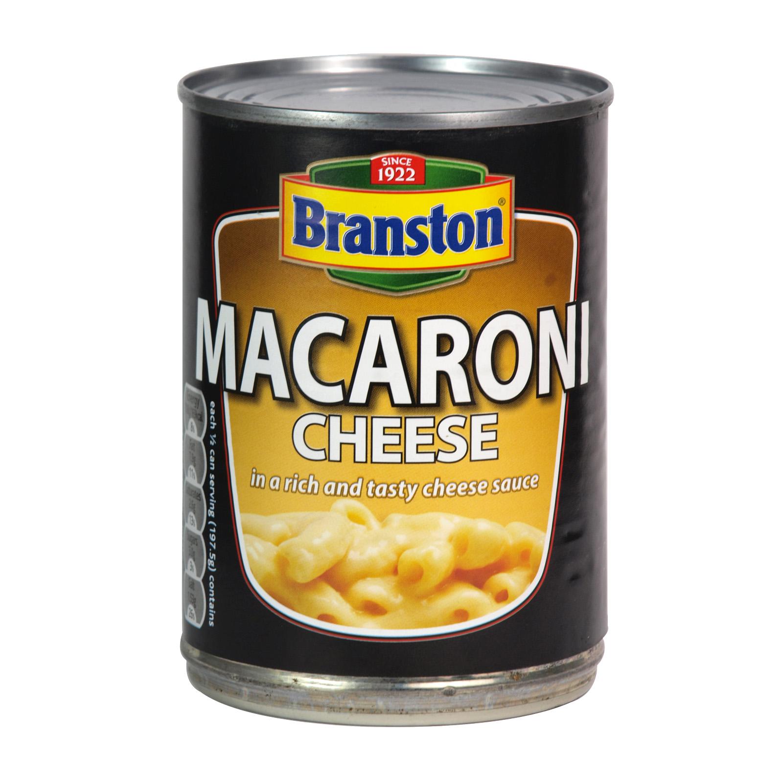 BRANSTON MACARONI CHEESE 395GM X6