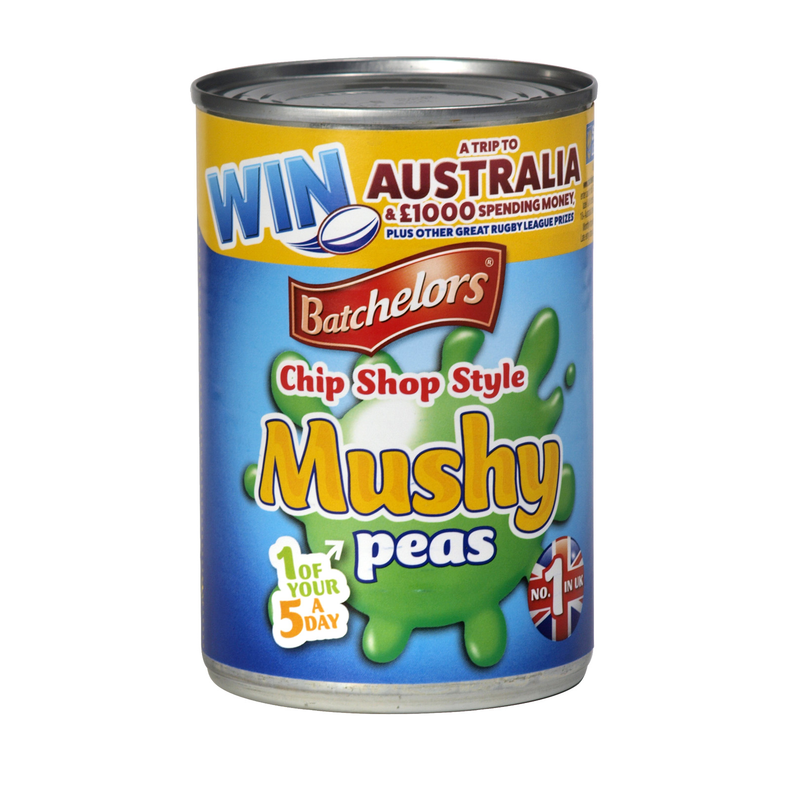 BATCHELORS MUSHY PEAS CHIP SHOP 300G