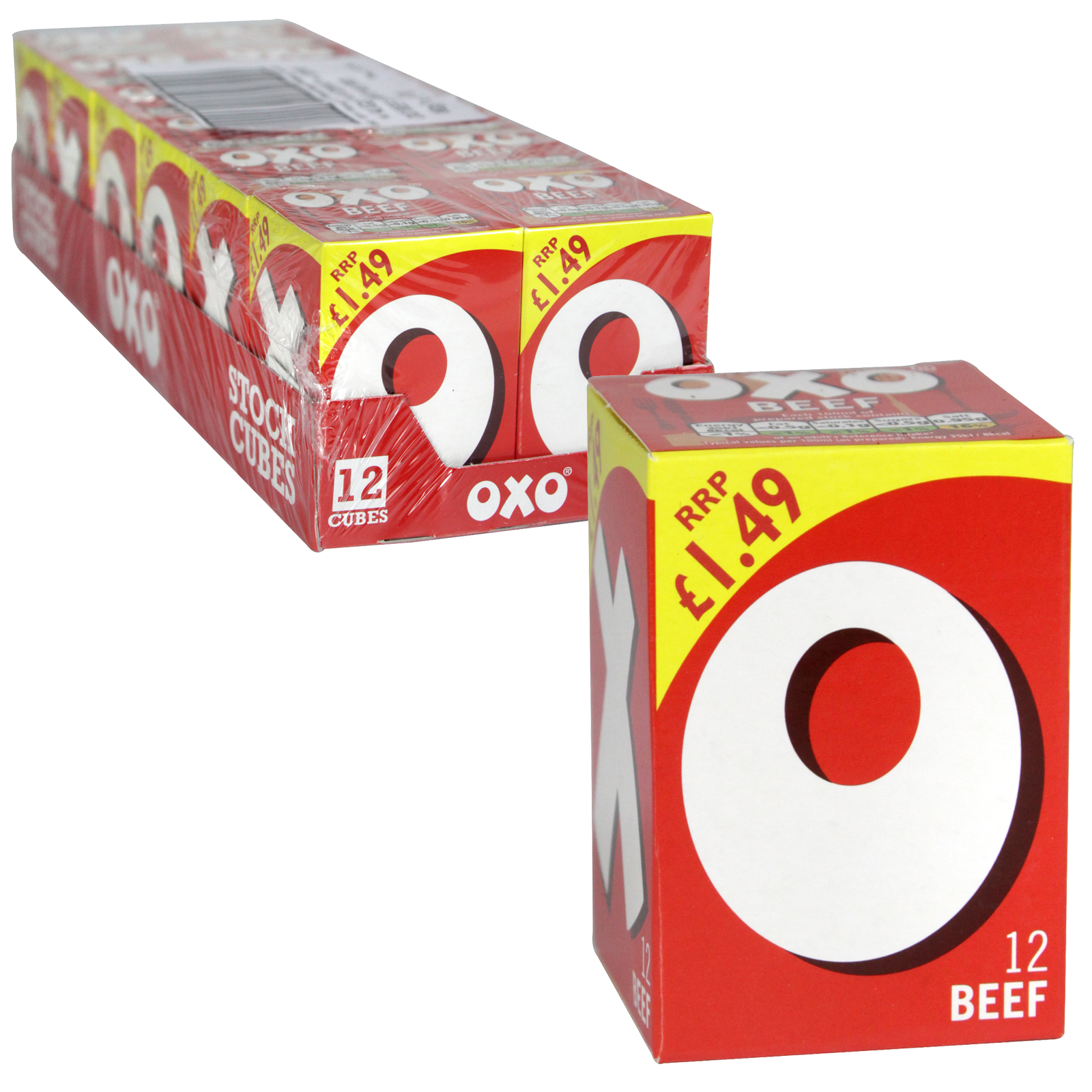 OXO CUBES 12S BEEF PM ?1.69 X12