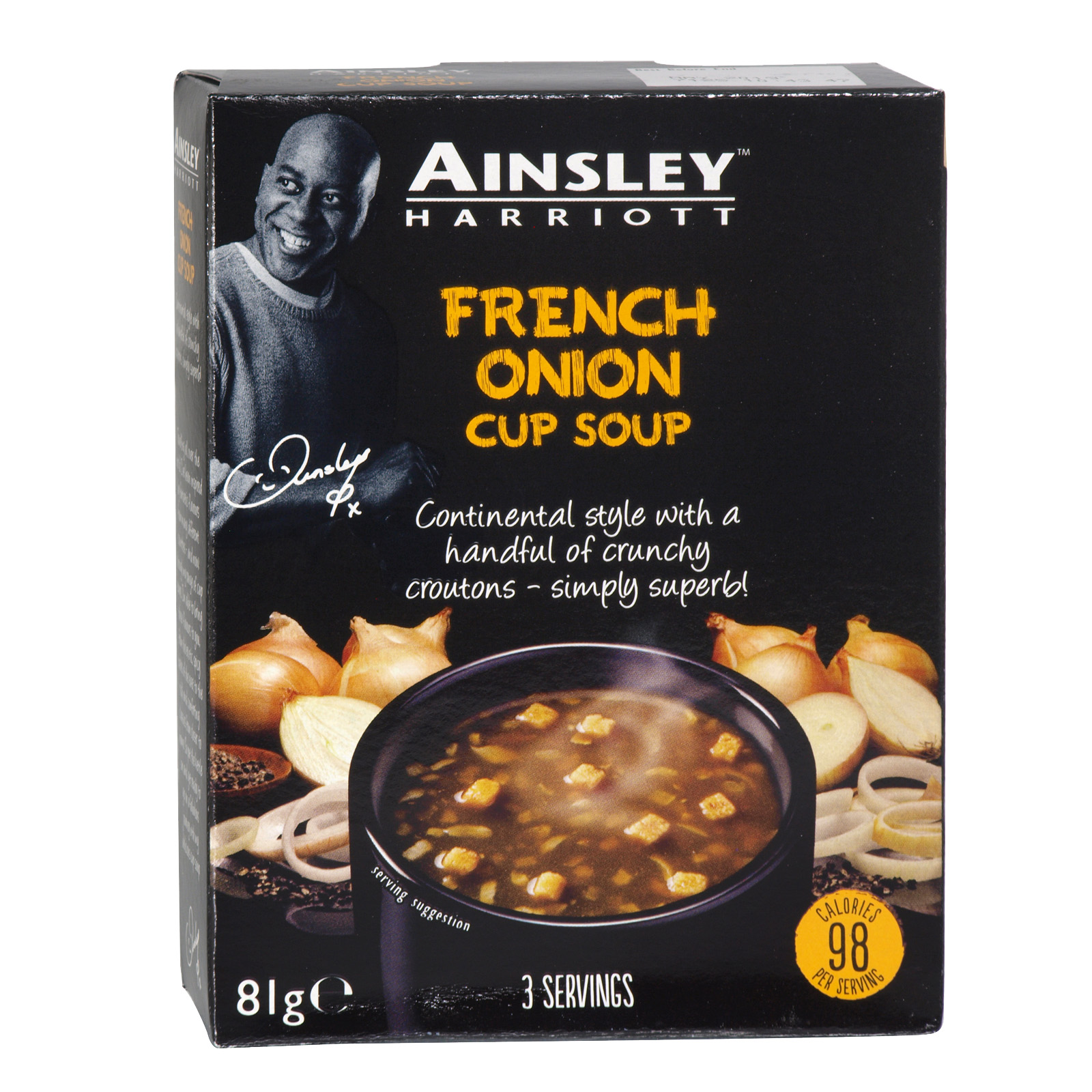 AINSLEY CUP-A-SOUP 3PK