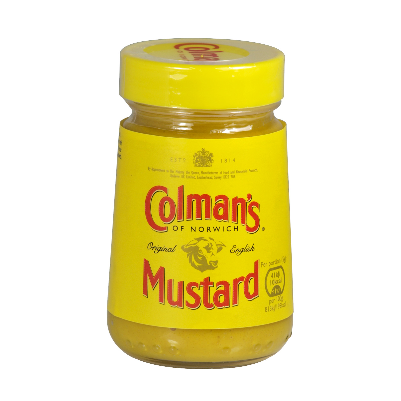 COLMANS ORIGINAL ENGLISH MUSTARD 100GM X8