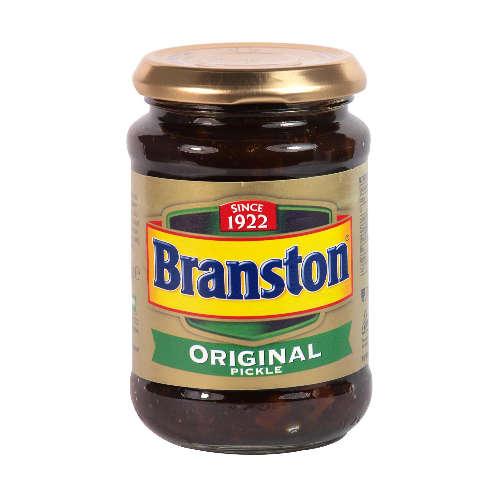 BRANSTON PICKLE 310GM JAR ORIG X12