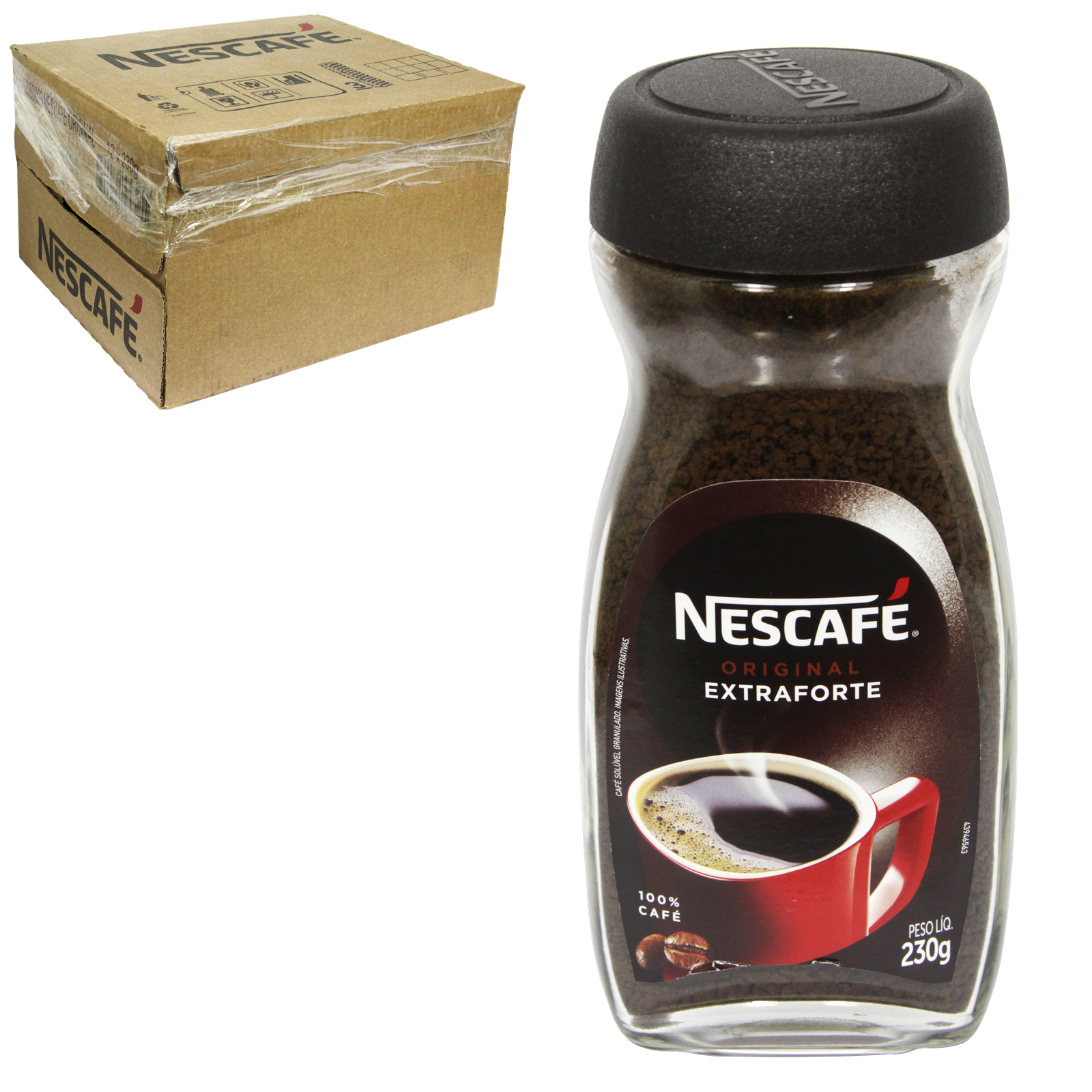 NESCAFE ORIGINAL CONTOUR JAR 230GM X12