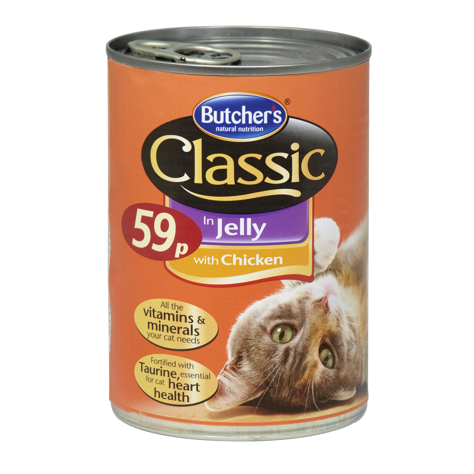 BUTCHERS CLASSIC CHICKEN CAT FOOD 59P