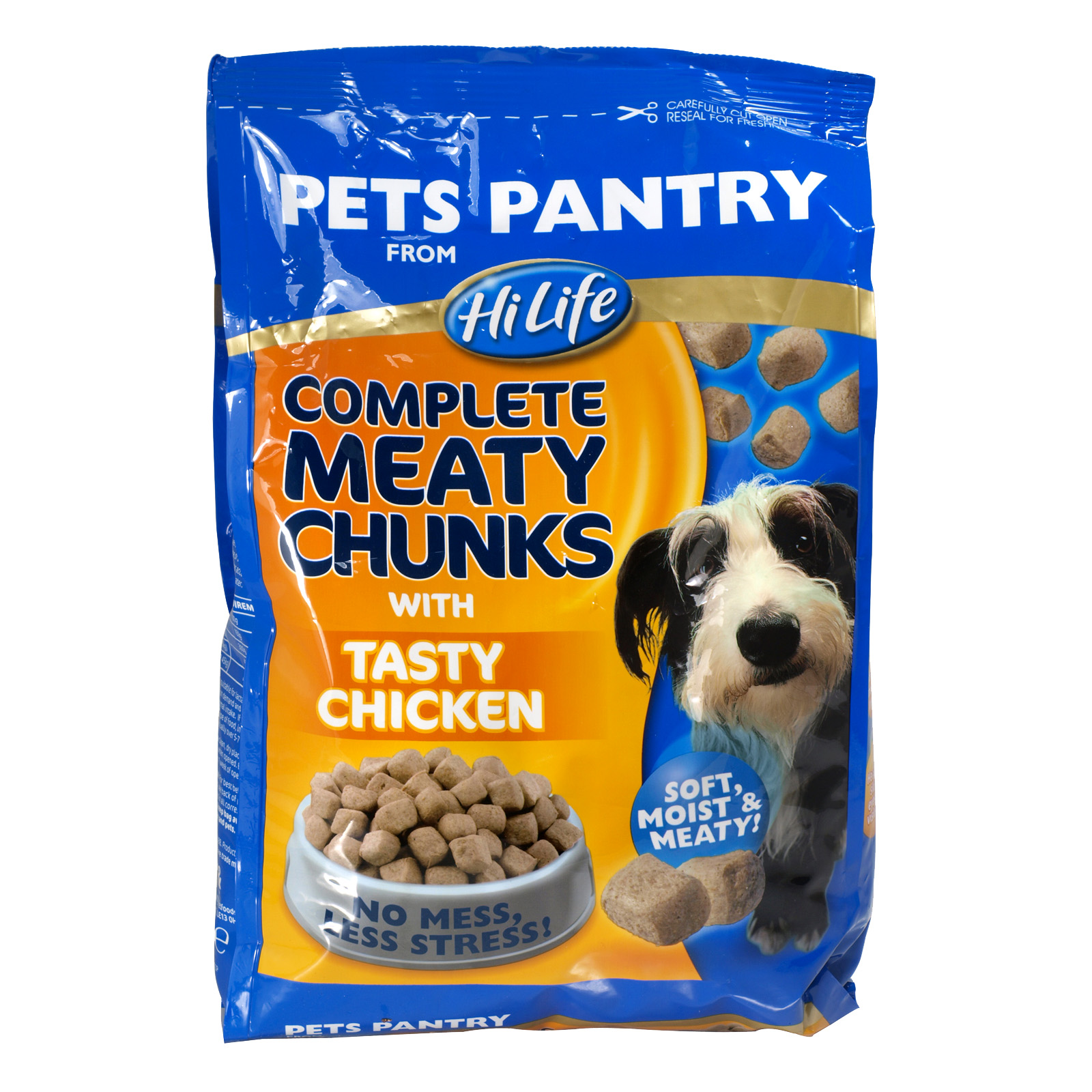 PETS PANTRY COMPLETE MEATY CHUNKS+CHICKEN 1KG X4