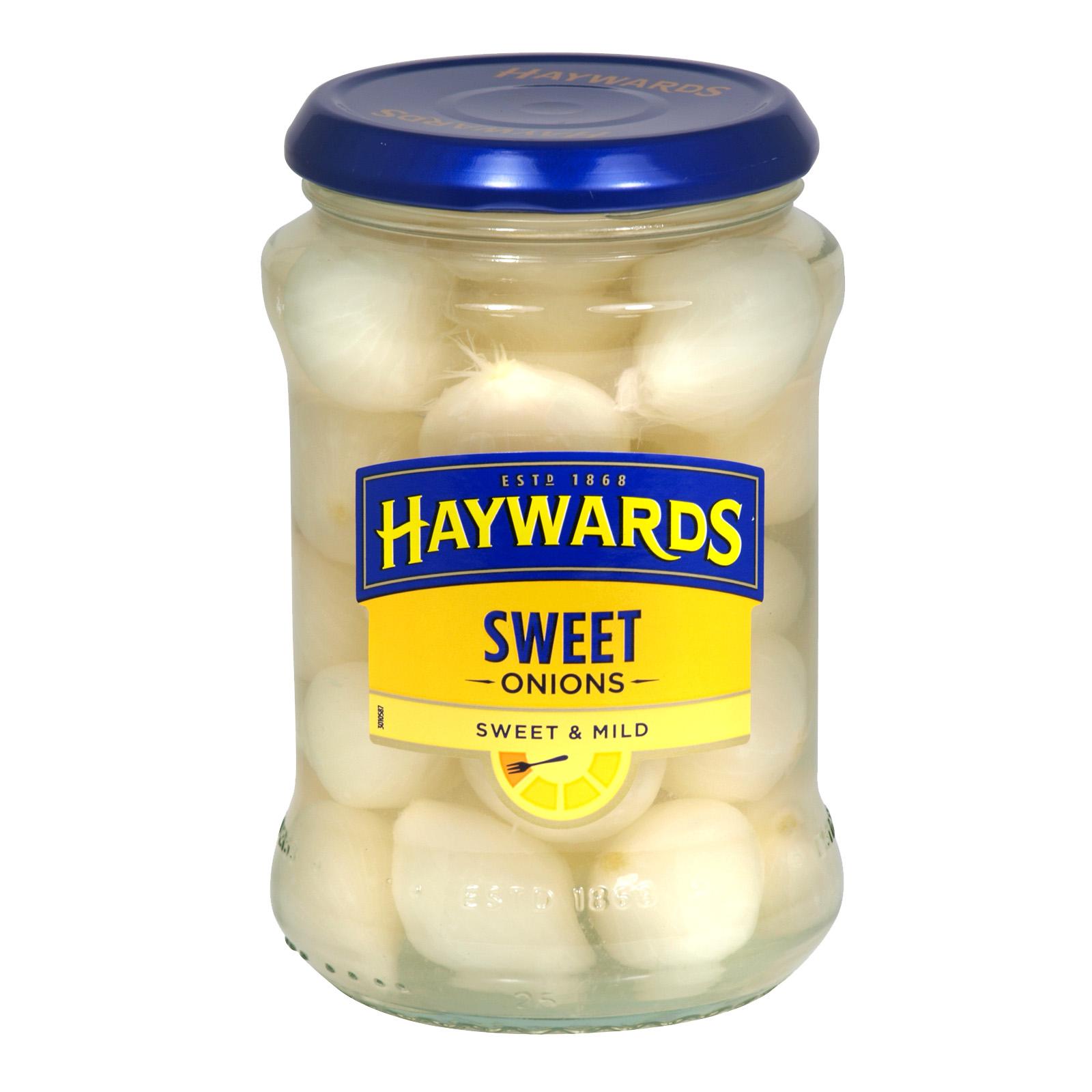 HAYWARDS SILVERSKIN ONIONS SWT/MILD X6