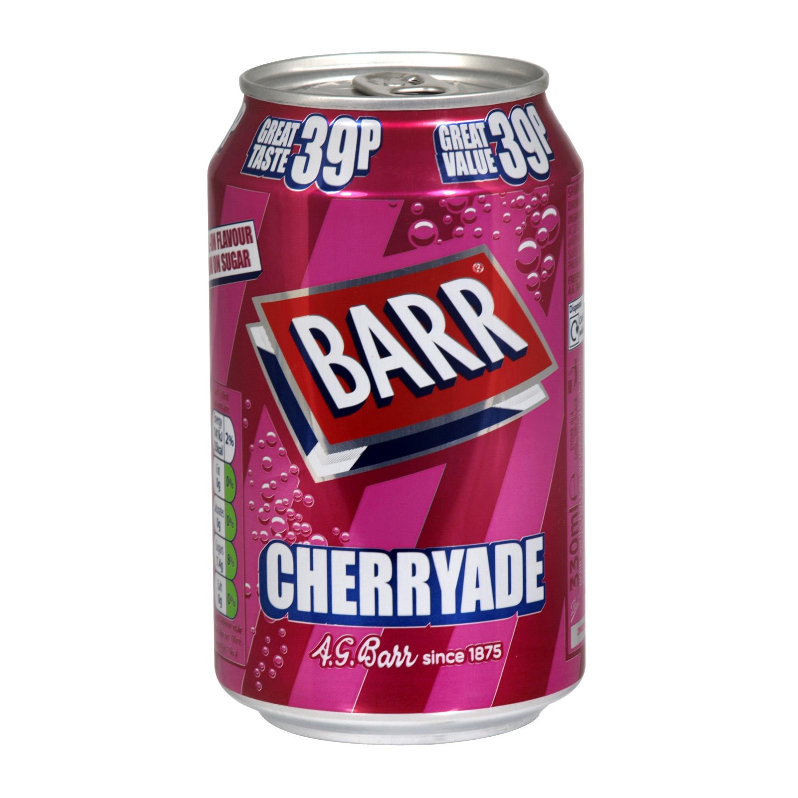 BARR 330ML CANS CHERRYADE PM 39P