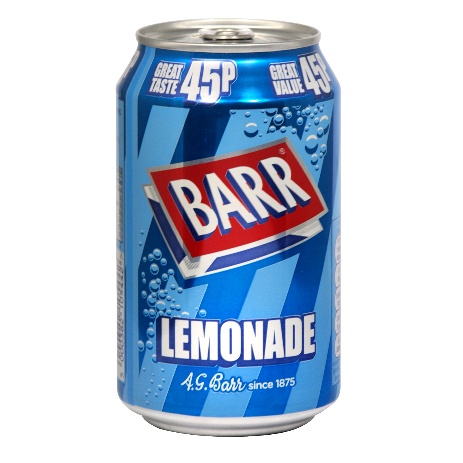 BARR 330ML CANS LEMONADE PM 45P X24