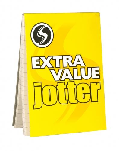 SILVINE XTRA VALUE JOTTER A5 RSP 82P X24