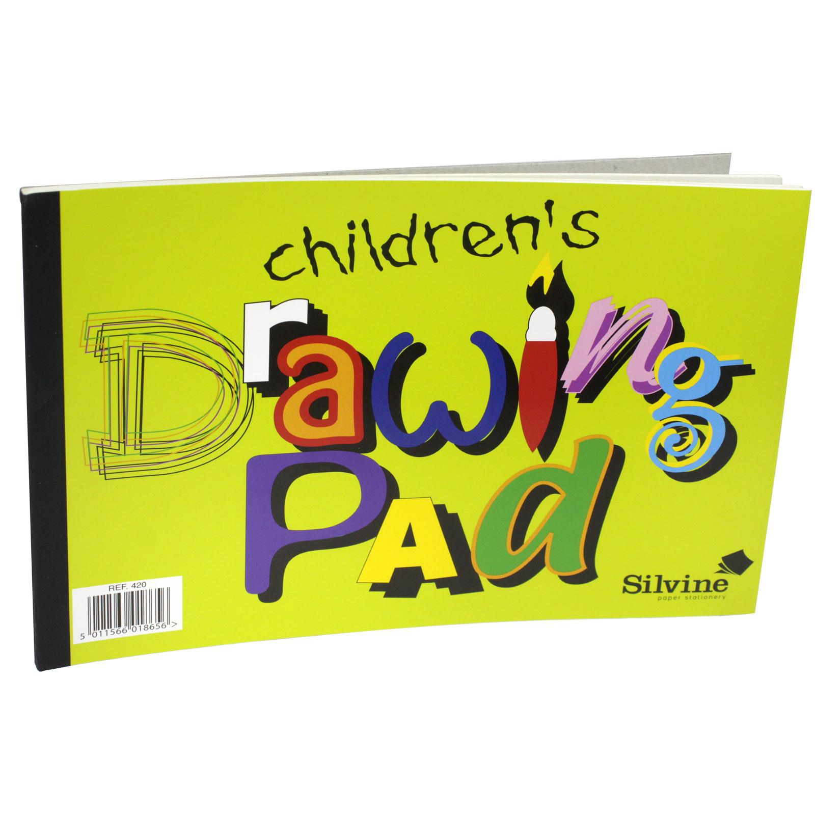 SILVINE KIDS DRAWING PAD RSP 79P