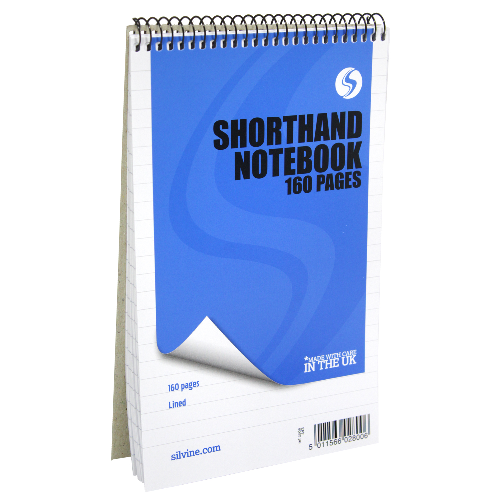SHORTHAND NOTEBOOK 160P RSP 99P X12