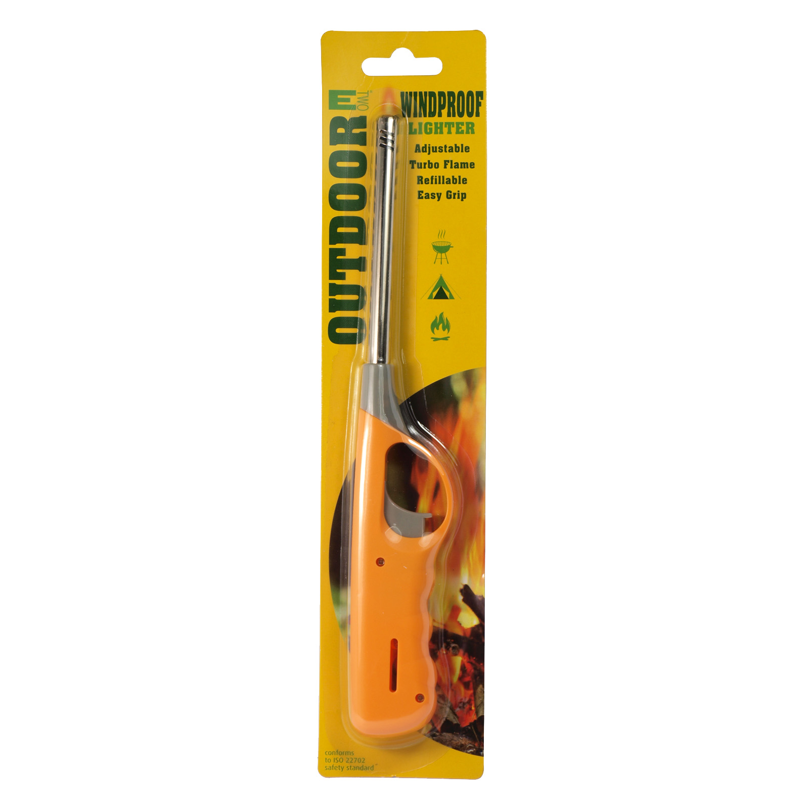 WINDPROOF UTILITY LIGHTER TURBO FLAME SINGLE