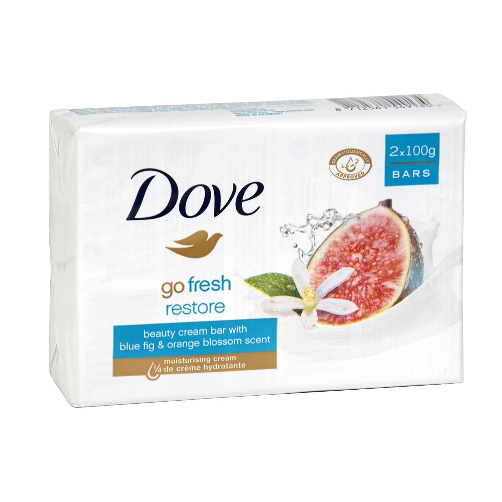 DOVE SOAP 2X100GM GO FRESH RESTORE X 12