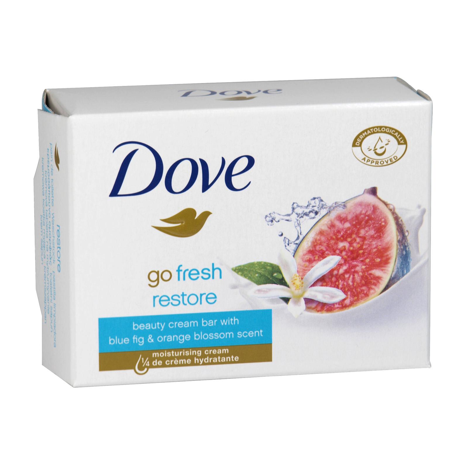 DOVE SOAP 100GM GO FRESH RESTORE X 48