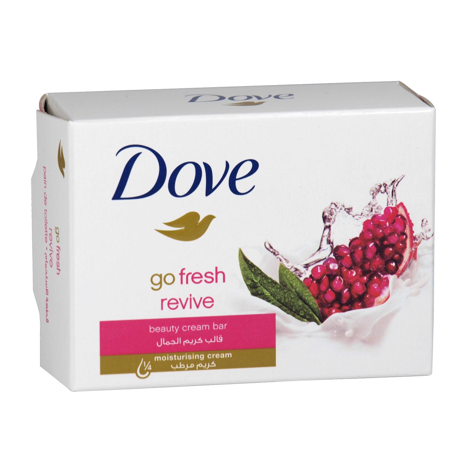 DOVE SOAP 100GM GO FRESH REVIVE X 48