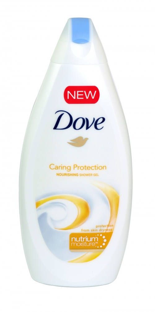DOVE BODY WASH 500ML CARING PROTECT X 6