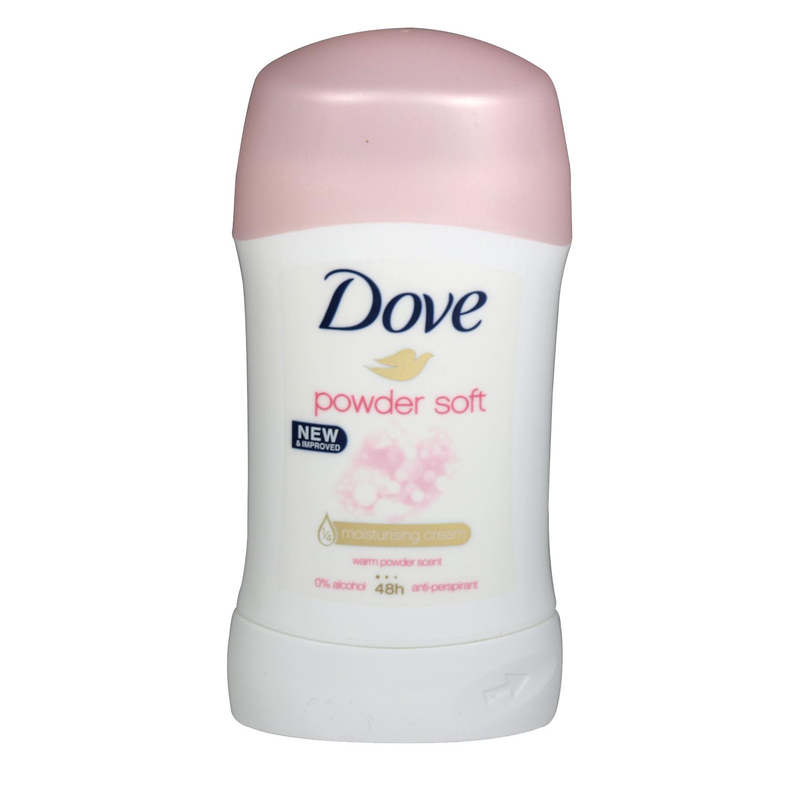 DOVE DEO STICK 40ML POWDER SOFT X 6